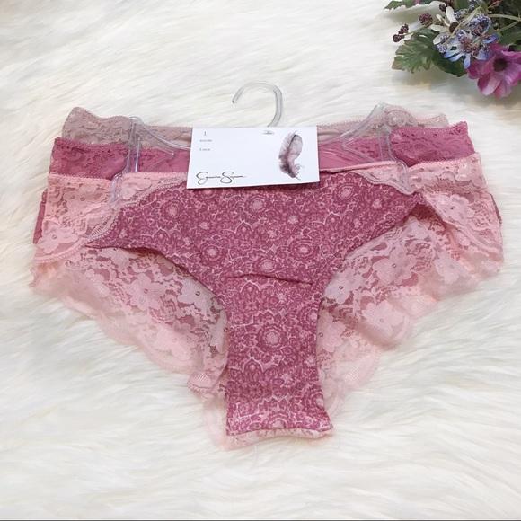 fb6b13d7dbe2b Jessica Simpson Intimates & Sleepwear   Nwt Cheeky Lace Bikini ...